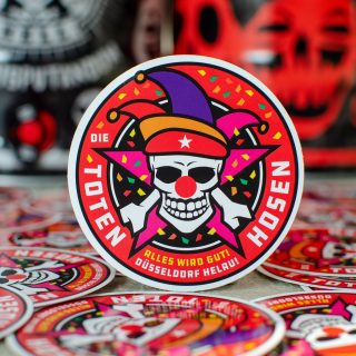 Offizieller Session-Sticker 2021 zu jedem Hosen Hell-Partyfass!