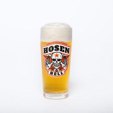 Hosen Hell Glas 0,3 l